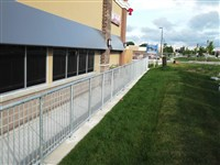 Galvanized Hand Rail Manufactured By ARISS FENCE
