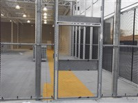 Single Egress Gate Designed and Manufactured by ARISS FENCING